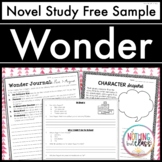 Wonder Novel Study Unit: FREE Sample