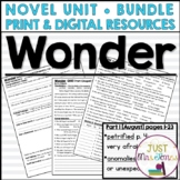 Wonder Novel Unit
