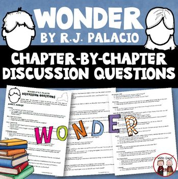 Wonder Novel Study Discussion Questions