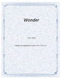 Wonder  Novel Unit Plus Grammar