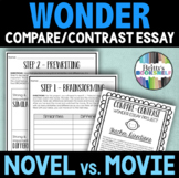 Wonder Novel vs. Movie Compare/Contrast Project