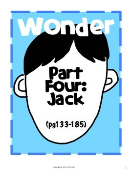Wonder: Part Four Jack