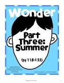 Wonder Part Three: Summer