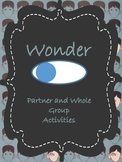 Wonder Partner and Small Group Activities