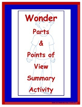 Wonder-Parts and Points of View Summary Activity