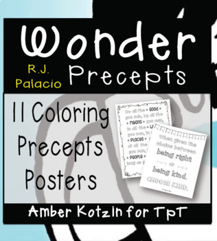 Wonder Precepts Posters