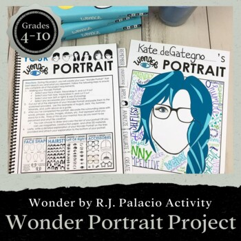 Wonder Portrait Project: Interactive Activity for Students