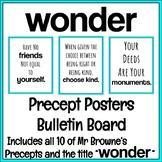 Wonder Precept Posters Bulletin Board