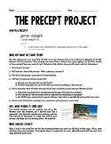 Wonder Precept Project