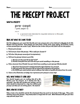 Wonder Precept Project