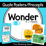 Wonder Precept and Quote Poster Set