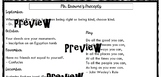 Wonder Precepts Assignment