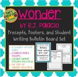 Wonder Precepts Student Writing Bulletin Board Set