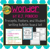 Wonder Precepts Student Writing Bulletin Board Set