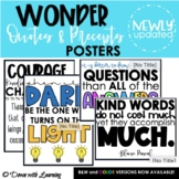 Wonder Precepts and Quotes Posters