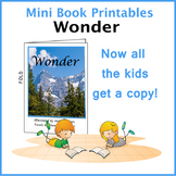 Wonder Printable Mini Book