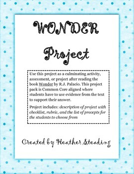 Wonder Project