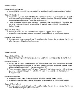 Wonder Questions ch. 44-47