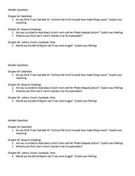 Wonder Questions ch. 64-66