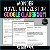 Wonder Quizzes for Google Classroom (Distance Learning)