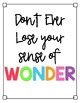 Wonder Quote Posters