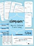 Wonder {R.J. Palacio} Novel Study