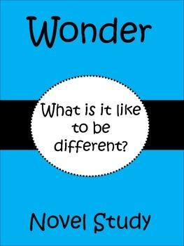 Wonder (R. J. Palacio) Novel Study