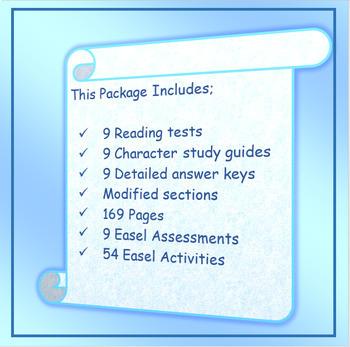 Wonder Reading Comprehension Test