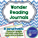 Wonder - Reading Journals