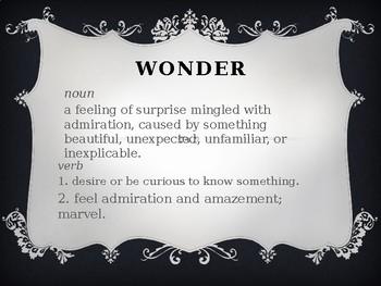 Wonder Research Inspiration