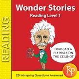 Wonder Stories: Reading Level 1