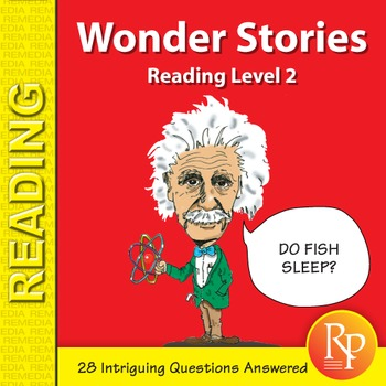 Wonder Stories: Reading Level 2