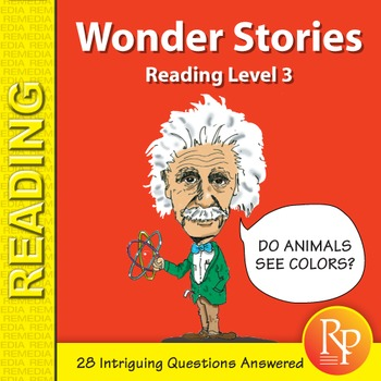 Wonder Stories: Reading Level 3