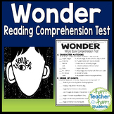 Wonder Test: Final Book Quiz with Answer Key