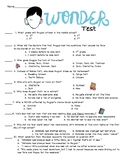 Wonder Test (first half of the book)