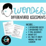 Wonder Tests and Quizzes - R.J. Palacio