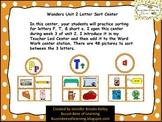 Wonders Unit 2 Letter Sort ( P & T) and short /a/ sort