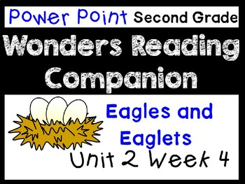 Wonder Unit 2 Week 4 Power Point. Eagles and Eaglets. Second Grade