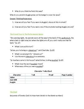 Wonder Unit - Part One (Auggie) Questions