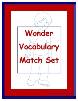 Wonder Vocabulary Match Set