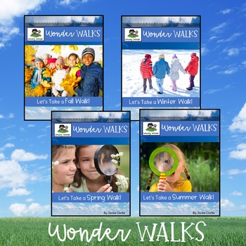 Wonder Walks Four Seasons Bundle (Science, Nature, and Inquiry)