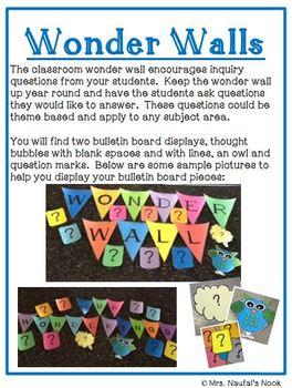Wonder Wall - Bulletin Board Pieces