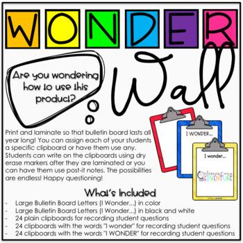 Wonder Wall - An Interactive Inquiry Bulletin Board