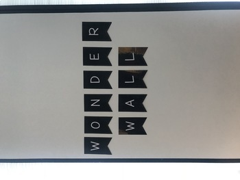 Wonder Wall Banner (Black)