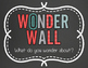 Wonder Wall Bulletin Board FREEBIE
