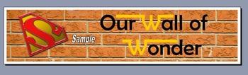 Wonder Wall - Display Banner