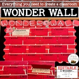 Wonder Wall (EDITABLE)