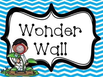 Wonder Wall + Wonder Banner + Wonder Starters + Wonder Journal