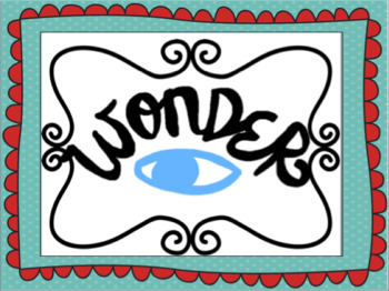 Wonder (We're All Wonders Book Companion)