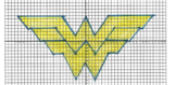 Wonder Woman Coordinate Graphing Mystery Picture 4 Quadrants